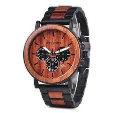 MC16 <b>Wooden Watch Men's</b> Luxury Stylish Wood Timepieces ...