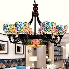 stained glass chandeliers antique stained glass chandelier antique 8 light antique stained glass chandelier for bedroom
