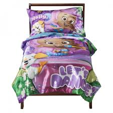 nickelodeon bubble guppies 4 piece toddler bedding set by nickelodeon for baby in new zealand