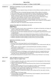 Sample Resumes For Business Analyst Principal Business Analyst Resume Samples Velvet Jobs