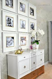 picture frames on wall simple. Images About Awelldressedlife The Blog On Pinterest Photo Walls Gallery Ikea Ribba Frame Wall Simple Frames 3x3 White Picture