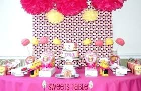 Birthday Party Table Decoration Ideas Birthday Cake Table Decorating