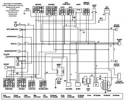wiring diagram chinese 150cc atv wiring diagram 125cc plete TaoTao 110Cc Wiring-Diagram at Tao Tao 150cc Scooter Wiring Diagram