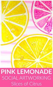 Pink Lemonade Designs Pink Lemonade Design Variation Social Artworking Slices