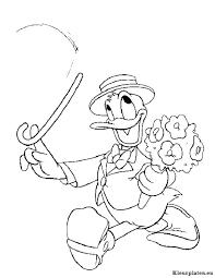 Donald Duck Kleurplaten Kleurplateneu