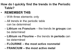 Structure of the Periodic Table Aim PT2 – what are some of the ...