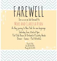 sle invitation for send off party new sle invitation letter for send f party archives reseaudocteur