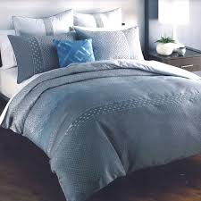 amazing applique ruffle stripe grey duvet cover and shams intended for blue and grey duvet covers