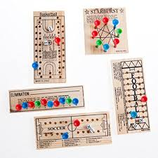 Wooden Peg Games