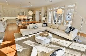 chic open floor plan