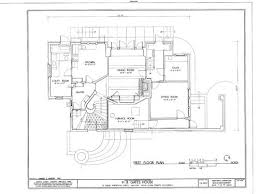 craftsman floor plans. Gates House By Bernard Maybeck - 1904 Craftsman Floor Plans