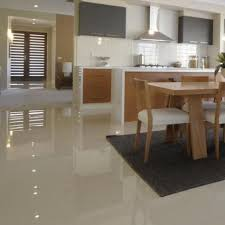 modern kitchen floor tiles. Kensington 60 X Cm Floor Tiles In Modern Kitchen