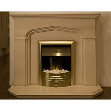 classic tudor limestone fireplace