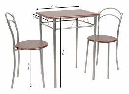 Ts Ideen 3er Set Essgruppe Esstisch Küchentisch Tisch Stühle