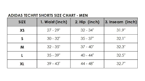 Adidas Inseam Chart