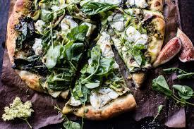garden greens. Garden Greens Goddess Pizza | Halfbakedharvest.com @hbharvest