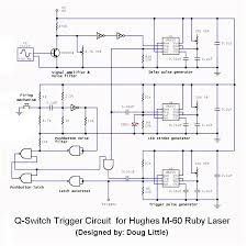 sam s laser faq complete ss laser power supply schematics the q switch trigger circuit for hughes m 60 ruby laser