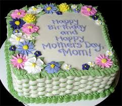 9 Square Cakes For Mom Photo Happy Birthday Mom Cake Mothers Day