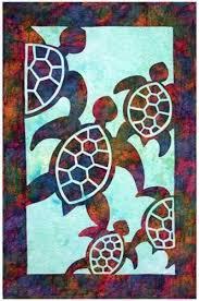 Best 25+ Turtle quilt ideas on Pinterest | Ocean quilt, Machine ... & hawaiian sea turtle quilt patterns | Turtle Quilt Pattern | eBay Adamdwight.com