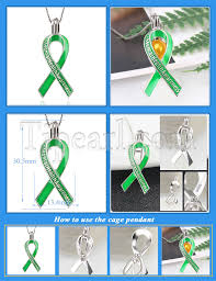 mental health awareness scarf sterling silver cage pendants 3pcs