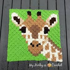 My Hobby Is Crochet Free Crochet Pattern Graph Giraffe