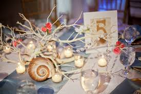 Seaside Themed Wedding Decorations