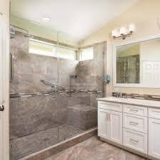 bathroom tile repair. Standalone Seated Shower Bathroom Tile Repair