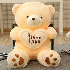 cute teddy bear plush doll valentine s day gift 70cm