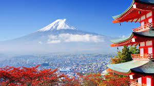 Mount Fuji Japan Tourism 4K Background ...