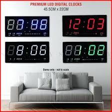 large wall digital clock large led digital wall clock whole digital wall clock suppliers large atomic