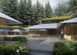 Zen Garden Designs Adorable Kengo Kuma Designs Cultural Village For Portland Japanese Garden