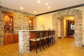 Wine Cellar Kitchen Floor Basement Bar Ideas With Brick Lovely Kitchen Decoration With
