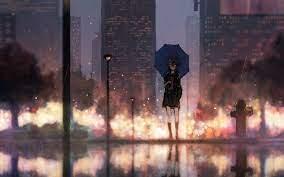 Anime Rain Wallpapers - Top Free Anime ...