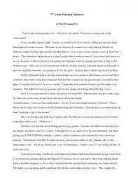 8th Grade Essay Examples Personal Narrative Examples 8th Grade Examples And Forms