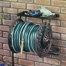 cast aluminum hose reel wont warp fade or rust constructed of heavy duty this wall