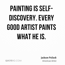 Self Discovery Quotes Custom Jackson Pollock Quotes QuoteHD