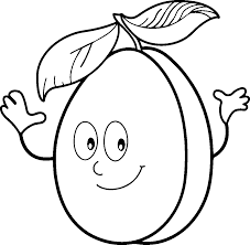 Small Picture Fun Fruit Coloring Page Coloration