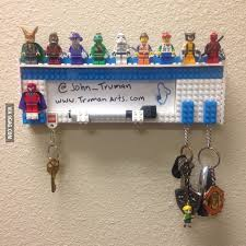 office key holder. I Made This LEGO Key Holder For My Office! Office