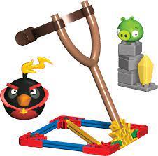 Angry Birds Space-Sets: Reale Action! Feuert den Vogel nach der Sau!