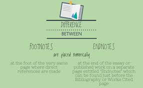 the difference between endnotes and footnotes examples of footnotes and endnotes