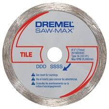 dremel saw max 3 in diamond tile wheel
