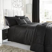 stylish and also beautiful black bedspread with regard to your