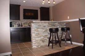 Cool Irish Themed Basement Bar Idea traditional-basement