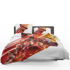 ant man and the wasp marvel characters comforter set