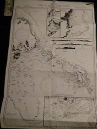 Us Navy Nautical Charts Details About Antique Vintage Us Navy Nautical Chart Aeronautical Map Isle Of Pines Pacific
