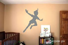 peter pan wall decals on peter pan wall decal shadow with tree shadow wall decal plus peter pan