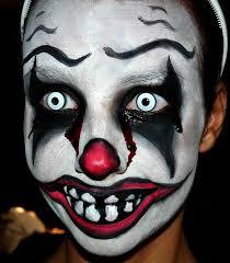 scary clown makeup ideas photo 3