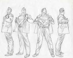 Alex Ross Superman Turn Arounds