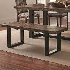 dining bench dark wood. awesme dining bench for comfort your room design ideas: dark wood with