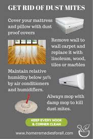 Learn how to get rid of dust mites. Dust mites can cause allergic ...